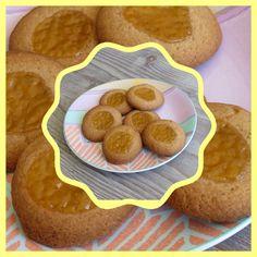 Lekker en leuk!: Lemon curd cookies