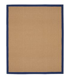 Sisal Rug with Blue Border - Rugs - Textiles - The Conran Shop UK
