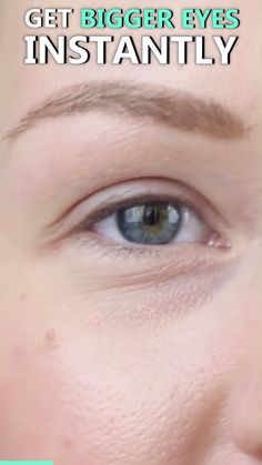 INSTANT EYELIFT WITHOUT SURGERY ? Enjoy that bigger, full eye look you've been dying for without expensive, painful surgeries thanks to the the all-new Double-Sided Eyelid Tape. It takes ju Beauty Care, Beauty Skin, Beauty Makeup, Natural Eye Makeup, Natural Eyes, Beauty Secrets, Beauty Hacks, Bigger Eyes, Makeup Tricks