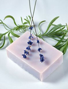 Learn to make handmade soap with these fourteen all-natural recipes. Use herbs, flowers, and essential oils to make bars perfect for home use or gifting.
