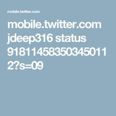 mobile.twitter.com jdeep316 status 918114583503450112?s=09
