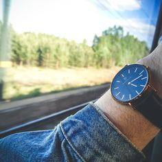 Take the Marc Watch on your next adventure! Daniel Wellington, Adventure, Watches, Accessories, Collection, Fashion, Wrist Watches, Moda, Fashion Styles