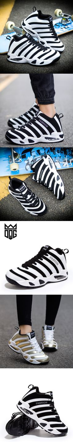 DQG Breathable Men Basketball Shoes Medium cut Women Sports Sneakers Outdoor PU Leather Male Sports Jordan Basketball Shoes