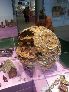 Star Wars Death Star Gingerbread House