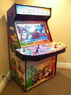"42"" Hyperspin MAME Arcade Cab I think a screen kicken around I could use.. I hate track balls though.."