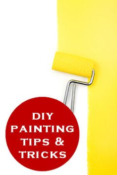 Painting Tips and Tricks.  Plus a recipe for milk paint and a paint calculator.