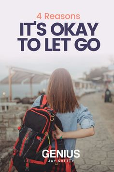 How to be okay with letting go. Although letting go can be painful, the other side is full of beautiful growth. Visit to learn the four reasons it's okay to let go and let yourself bloom. Jay Shetty's Genius Community is your lifelong partner in well-being, with curated workshops and meditations designed with you in mind. Find purpose, peace, and success with Genius. Finding Purpose, Finding Joy, Removing Negative Energy, Love Cover, Negative People, When You Realize, Its Okay, Moving Forward, Letting Go