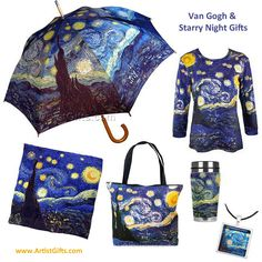 See our Collection of Starry Night Gifts - Free Shipping - No Minimum - Everyday! http://www.artistgifts.com/van-gogh-gifts.html