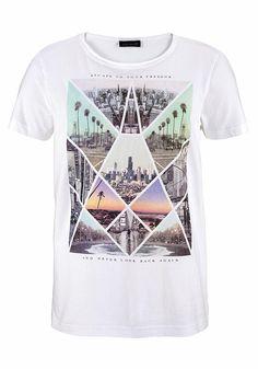T-Shirt mit stylischem Druck - Escape for your freedom