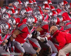 Ohio State Buckeyes Football What A Bunch Of Beasts! Buckeyes Football, College Football Teams, Ohio State Football, Ohio State University, Ohio State Buckeyes, Oklahoma Sooners, Sports Teams, American Football, Ohio Stadium