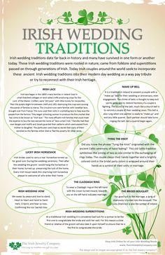 irish wedding tradit