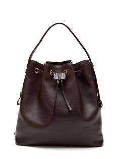 Tom Ford Drawstring Large Leather Tote - $1599