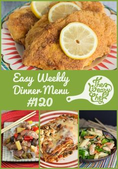 Get easy dinner ideas including Chinese Chicken Pasta Salad, Spinach Artichoke Lasagna, Pan Fried Chicken, and lots more!