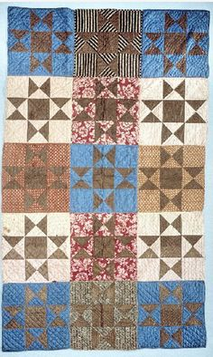 Soldier's Aid Society quilt, 1863. Organized by Susannah Corey Pullen, Augusta, Maine. Smithsonian Institution.
