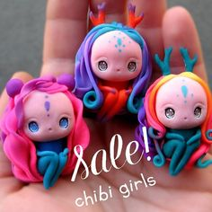 Hi, dear friends! CHIBI GIRLS are available on Etsy now . . And I want to say a huge sorry for you, my dear customers, who's packages still haven't arrived yet! But they should reach soon! . . Also I want to give a shout-out to my FIRST patron on my patreon page @myfriendlizzy  THANK YOU SO MUCH!!! ^_^ #chibi #etsystore #kawaiicharms #kawaiiart #kawaii #fimo #polymerclaycreations #polymerclaycharms #claycharms