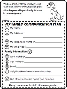 Fill out a plan with your family to have in an emergency then sit office of public health preparedness and response fandeluxe
