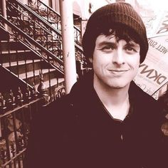 Billie Joe. I love this pic. :)