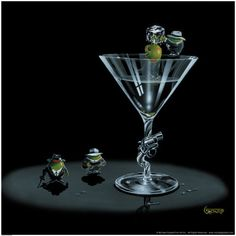 Gangster Martini  Michael Godard - least favorite of our collection - would like to sell it