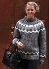 Lady in her Icelandic wool jumper (Mytwist) Tags: sexy love fashion lady design iceland sweater married wife jumper milf pullover icelandic lopi lopapeysa mytwist