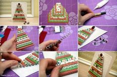 Do it yourself tutorials - Christmas trees, decorations, gifts, postcards and more - fancy-deco.com
