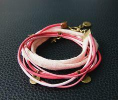 Bracelets sympa personnalisables, cuir et coton