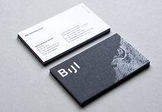 Bijl - Business Card Design Inspiration | Card Nerd