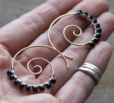 All sizes | 14k Gold Fill, Onyx & Sterling Silver | Flickr - Photo Sharing!