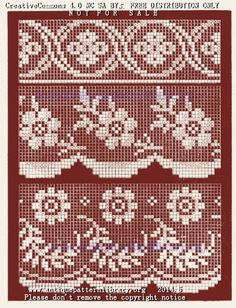 Captivating All About Crochet Ideas. Awe Inspiring All About Crochet Ideas. Crochet Snowflake Pattern, Crochet Borders, Crochet Flower Patterns, Crochet Doilies, Crochet Lace, Filet Crochet Charts, Knitting Charts, Lace Knitting, Knitting Patterns