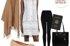 3 Airport Chic Looks For Traveling To Europe