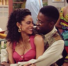 Dwayne & Whitley...best fictional couple ever lol