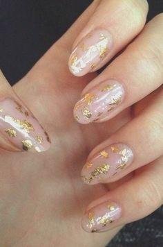 Prom Nails, Wedding Nails, Cute Nails, Pretty Nails, Hair And Nails, My Nails, Fingernails Painted, Essie Nail Colors, Rose Gold Nails