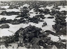 German dead at Stalingrad, by Sergei Strunnikova 1943. This is sad. All the young boys had to die because they were fooled by A.H. and his golden tongue.