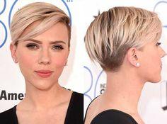 20 Popular Celebrity Short Hairstyles: #17. Scarlett Johansson