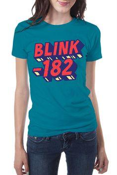 Blink-182 T-Shirt - Blocks Euro
