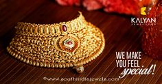 Latest Gold Choker Design From Kalyan Jewellers