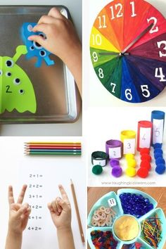 How to Homeschool Preschool - Kids Activities Blog - I am not homeschooling, but these are some pretty fun ideas that I might use for our time at home to reinforce what he's doing there.