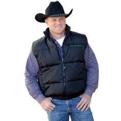 Something about a cowboy in a cinch vest!