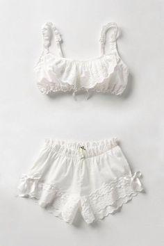 cute pjs slash lingerie. x