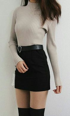 Awesome 39 Gorgeous Teen Fashion Ideas Impressive School Outfits Ideas To Wear This Winter Korean Fashion Source by lamkir Fashion outfits Teen Fashion Outfits, Cute Fashion, Look Fashion, Outfits For Teens, Trendy Outfits, Fall Outfits, Girl Fashion, Fashion Design, Fashion Ideas