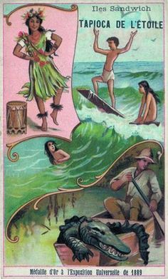 Buyenlarge 'Hawaii' Painting Print Size: H x W Painting Prints, Canvas Prints, Art Prints, Vintage Prints, Vintage Art, Hawaii Vintage, Hawaii Painting, Hawaii Surf, Museum