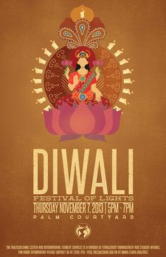 diwali poster design Diwali Poster on Behance - posterdesign Diwali Cards, Diwali Greetings, Diwali Wishes, Happy Navratri Images, Happy Diwali Images, Hindu Festivals, Indian Festivals, Creative Poster Design, Creative Posters