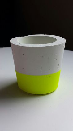 cement concrete candle holder by LittleBillyLove on Etsy, $13.00