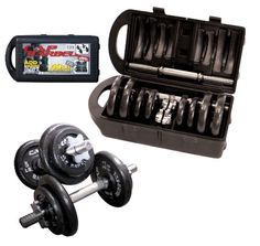 Check out the  Cap Barbell 40-Pound Dumbbell Set  http://astore.amazon.com/jimshealthstore-20/detail/B000VCDXNS  Just $64.10