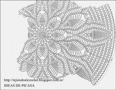 TEJIDOS A CROCHET - GANCHILLO - PATRONES: CHALECO