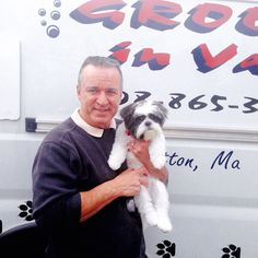 Peanuts loves Uncle Bill #GroomingVan #TLCPetHaven #DogGroomer #ShihTzu