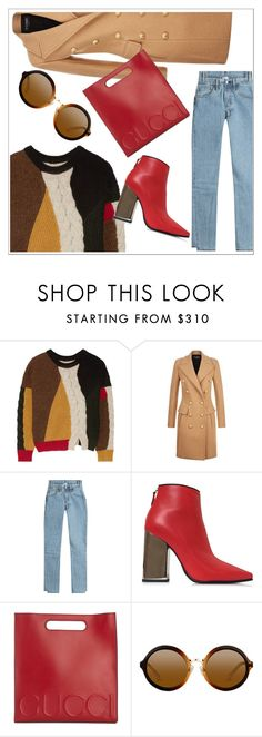"""""""Untitled #209"""" by chanlee-luv ❤ liked on Polyvore featuring Étoile Isabel Marant, Balmain, Vetements, Emilio Pucci and Gucci"""