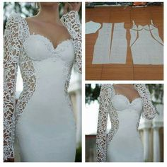 De lijn die in deze jurk zit vind ik mooi, de rest minder..
