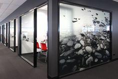 Pebbles, BDO Brisbane Glazing Graphics, Environmental Art.