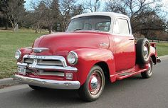 Ok this is the color scheme I want maybe the door white. No red wheels. Chrome and whit walls.  1955 Chevy First Series 3100 5 Window pickup