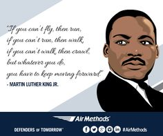 Whatever you do, you have to keep moving forward. #MLKday
